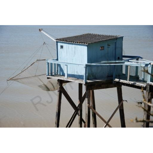 Carrelet French fishing hut